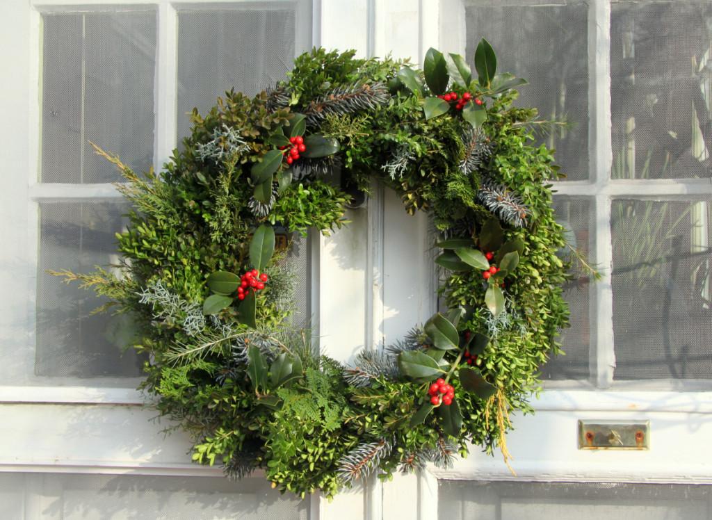 wreath-finished